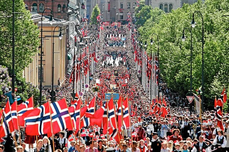 Norske-flagg